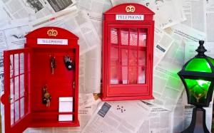 caja llaves armario cabina telefono londres