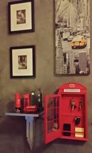 caja llaves cabina telefono london
