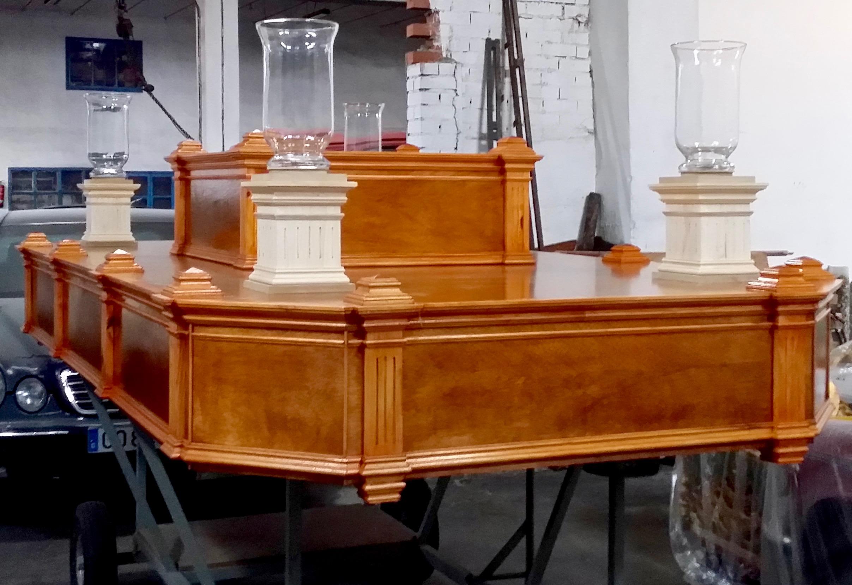 Paso Procesional/Carroza Religiosa, San Luis Gonzaga.