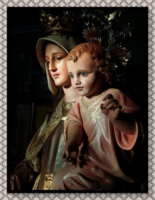 Restauración Virgen Del Carmen